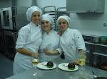 con mis amigas pasteleras ...