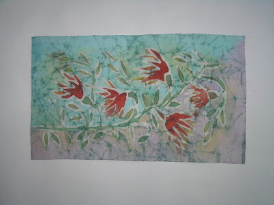 zorica, đuranić, duranic, batik, canvas, art, paintings, colorful, artistic, floral, flowers