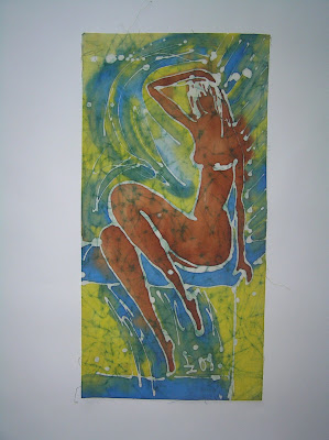 zorica, duranic, đuranić, batik, canvas, paintings, gallery, art, act, nude act, nude woman, artistic act