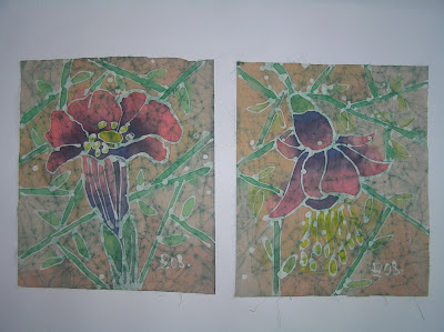 zorica, duranic, đuranić, batik, canvas, paintings, gallery, art, flowers, floral