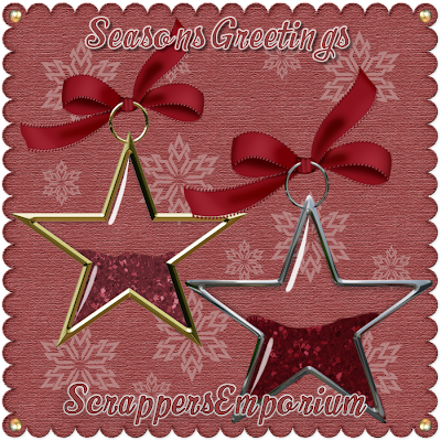 http://scrappersemporium.blogspot.com/2009/11/freebie-glitter-filled-stars.html