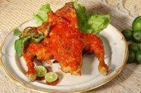 pelecing cook chicken lombok