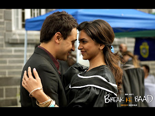Deepika Padukone and Imran Khan in Break Ke Baad wallpaper