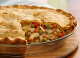 Freezer Chicken Pot Pie | FreezerDinner.com