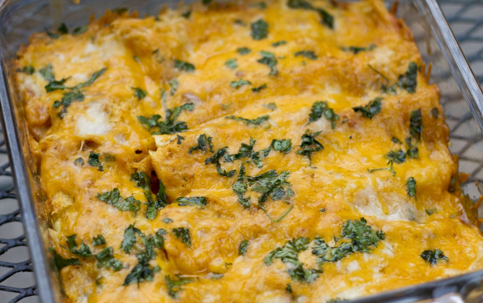 On My Menu: Tex-Mex Beef Enchiladas