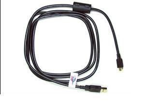 USB Cable + UHF transmitter in one. Cheap spy equipment. This cable has a it has a UHF transmitter built in