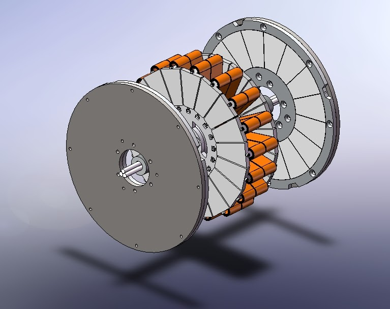 Axial Motor Rotor : Shane colton epic axial motor update