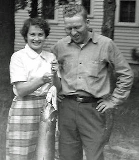 Cliff and Ann with Fish