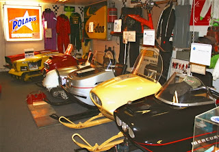 More Vintage Sleds on Display
