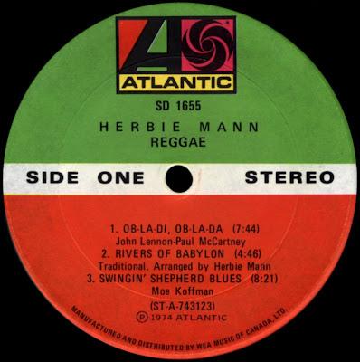 Soundological Investimigations Herbie Mann Reggae
