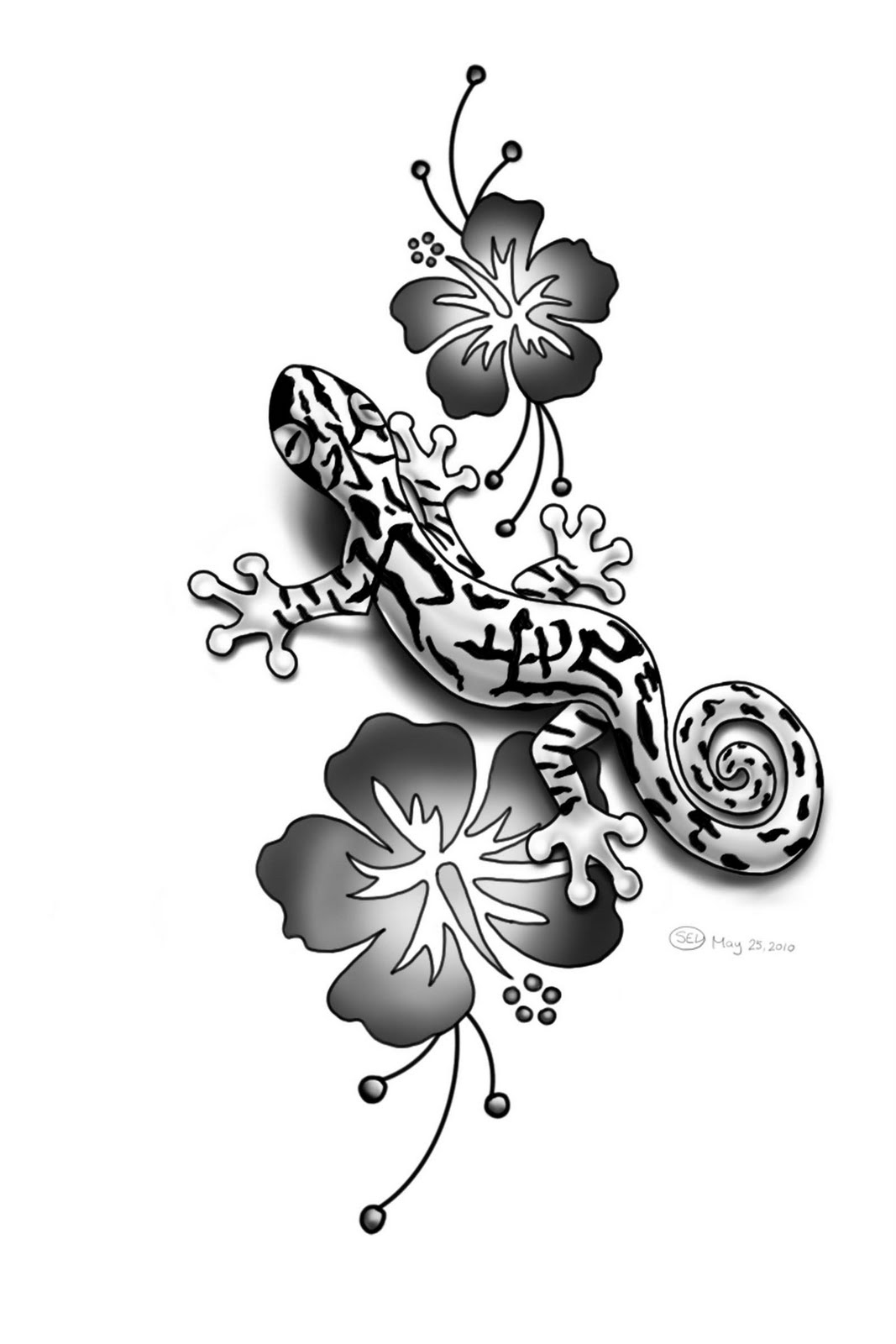 Gecko Lizard Tattoo Designs