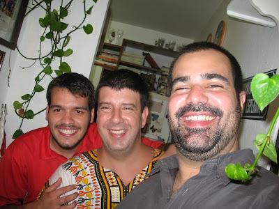 Bruno Tirone, Edu Goldenberg e Daniel Frangiotti, Buteco do Edu, 08 de dezembro de 2007