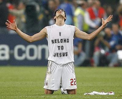 Kaká, 16 de dezembro de 2007, após a final do Mundial Interclubes, em Tóquio