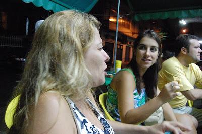 Dani Pureza, Clarisse e Daniel A., Rio-Brasília, 22 de dezembro de 2007