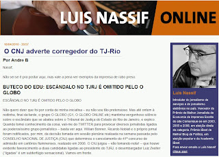 print do blog de Luis Nassif