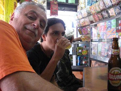 Isaac Goldenberg e Felipe Quintans, Bar Augustus, rua do Matoso, Tijuca, Rio de Janeiro, RJ, 30 de agosto de 2008