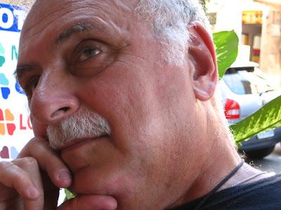 Isaac Goldenberg no ESCONDIDINHO DA MATOSO, na rua do Matoso, 06 de setembro de 2008, na Tijuca