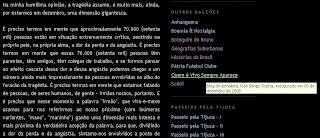 indicação do blog de José Sergio Rocha