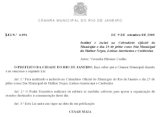 retirado do site da Câmara Municipal do Rio de Janeiro