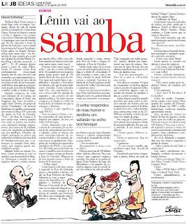 página 8 do CADERNO IDÉIAS do JORNAL DO BRASIL de primeiro de agosto de 2009