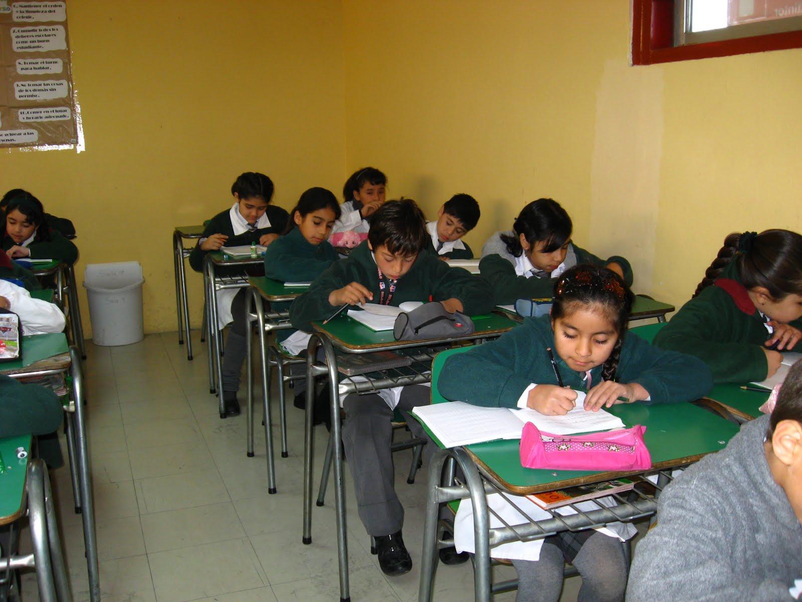 Cuarto Básico Campanita: ¡SILENCIO!!!....Niños estudiando.
