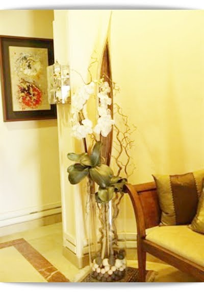 El minihogar - Decorar con flores artificiales ...