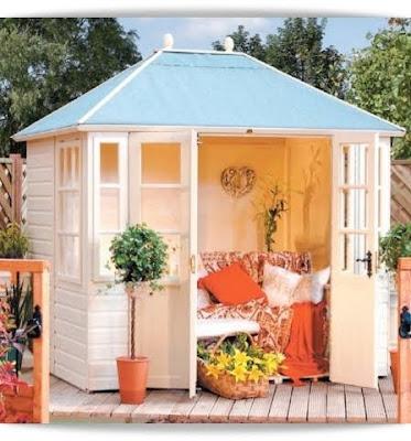 El minihogar for Vendo casita de madera para jardin
