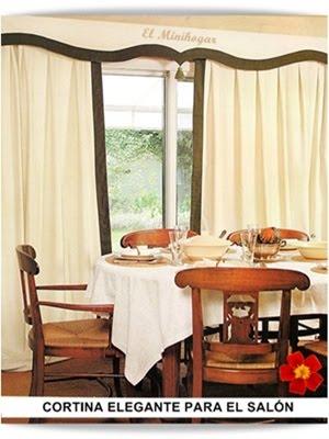 El minihogar for Como poner cortinas