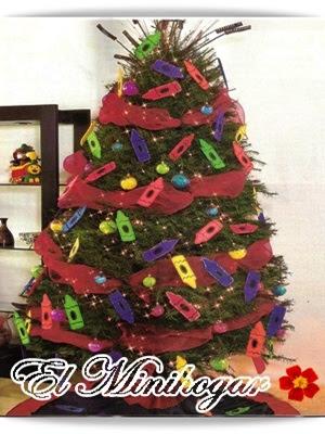 El minihogar - Arbol de navidad para ninos ...