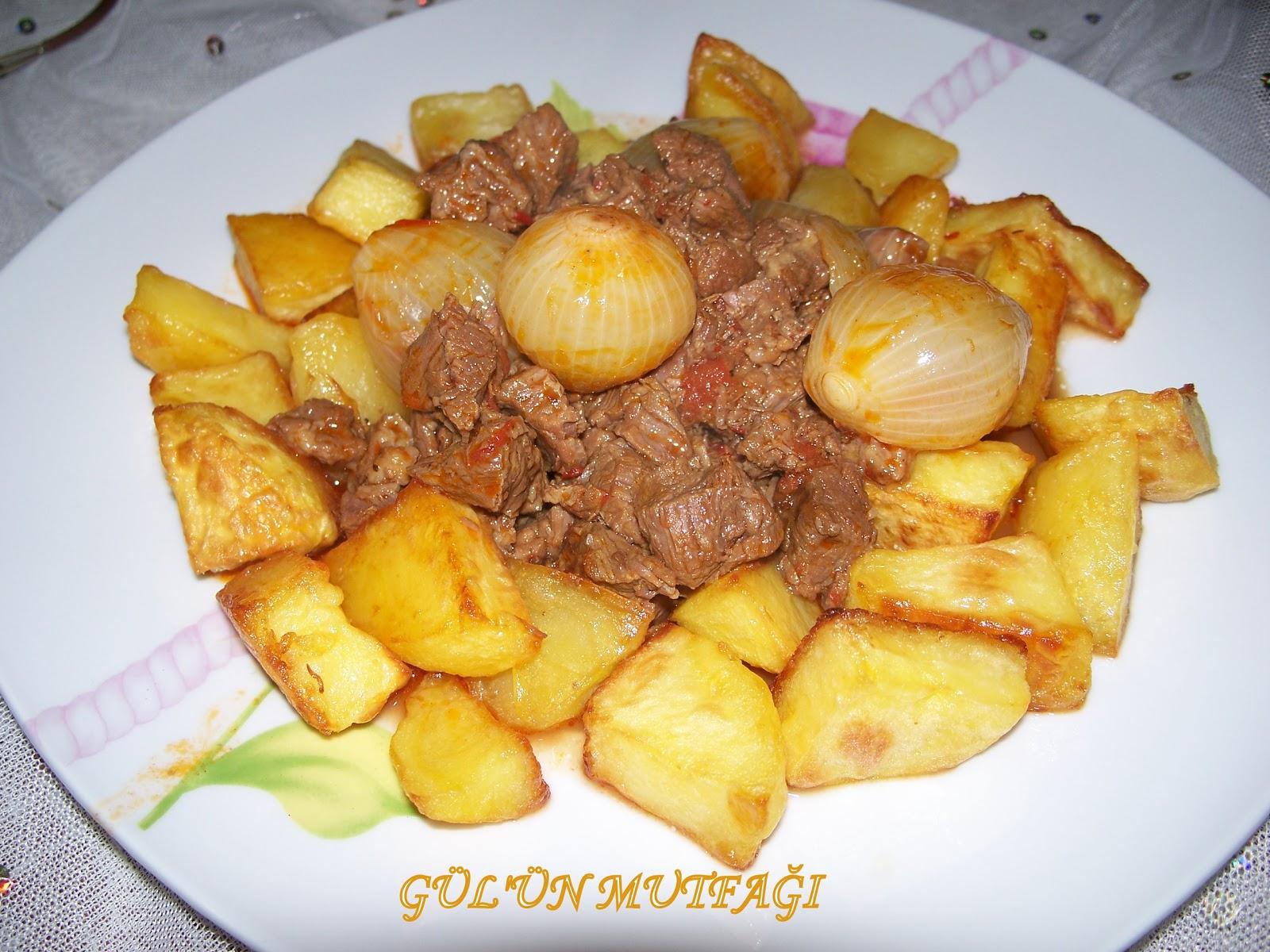 Patatesli Et Yahnisi Tarifi