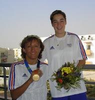 Isa et la coach Carole