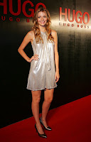 mischa barton hugo boss dress