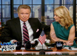 regis retiring, regis philbin retiring, regis, regis and kelly, regis philbin, live with regis and kelly