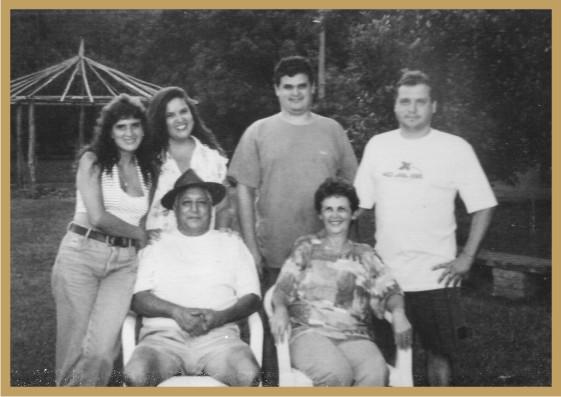 Flávio Madeira e Família