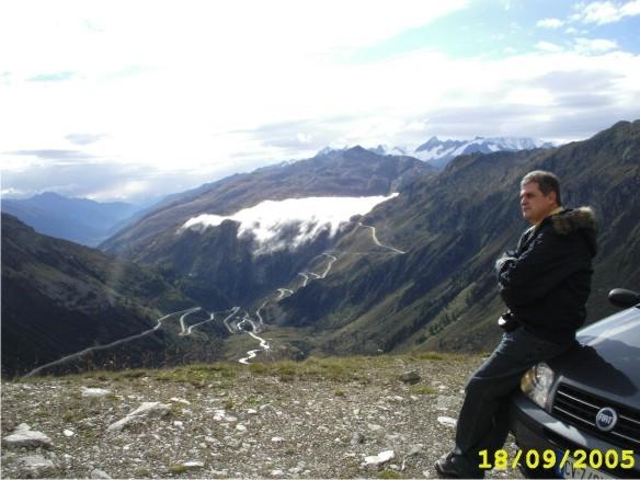 Luiz Flávio de Castro Madeira nos Alpes