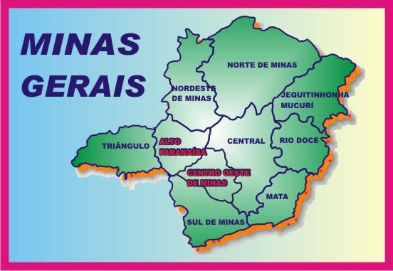 Minas Gerais * Alto Paranaíba e Centro Oeste de Minas