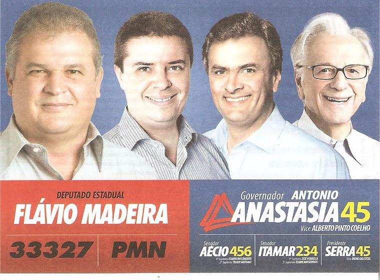 Políticos Apoiados por Flávio Madeira