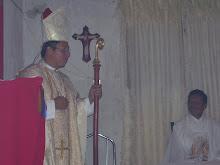 Homilia de + Monseñor Victor.