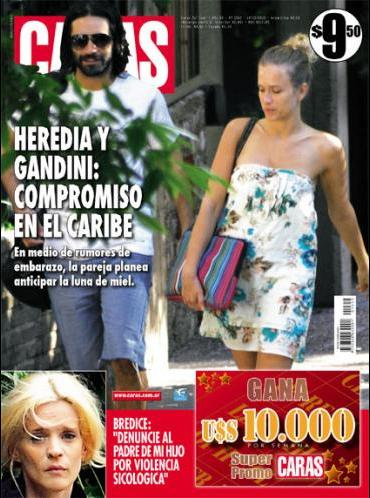 Pasando revista gonzalo heredia y brenda gandini la for Revistas de espectaculos de esta semana