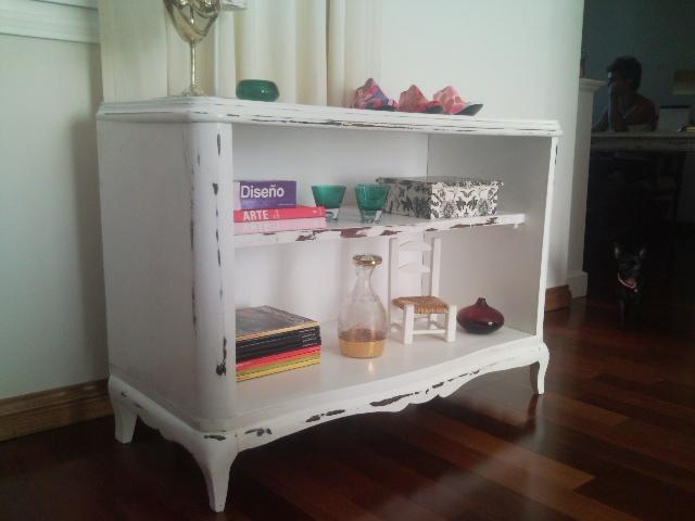 Vintouch muebles reciclados pintados a mano mueble - Muebles antiguos pintados ...