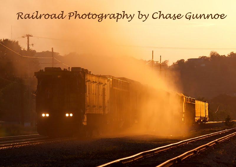 Railroad Photography by Chase Gunnoe
