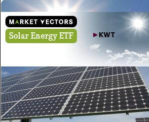 KWT ETF Market Vectors Van Eck Solar Energy ETF