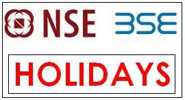NSE BSE Holidays