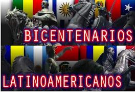 BICENTENARIOS INDEPENDISTAS