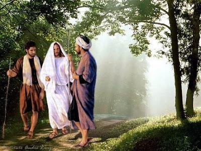 Apariciones de Jesús a sus discípulos Camino+de+emaus