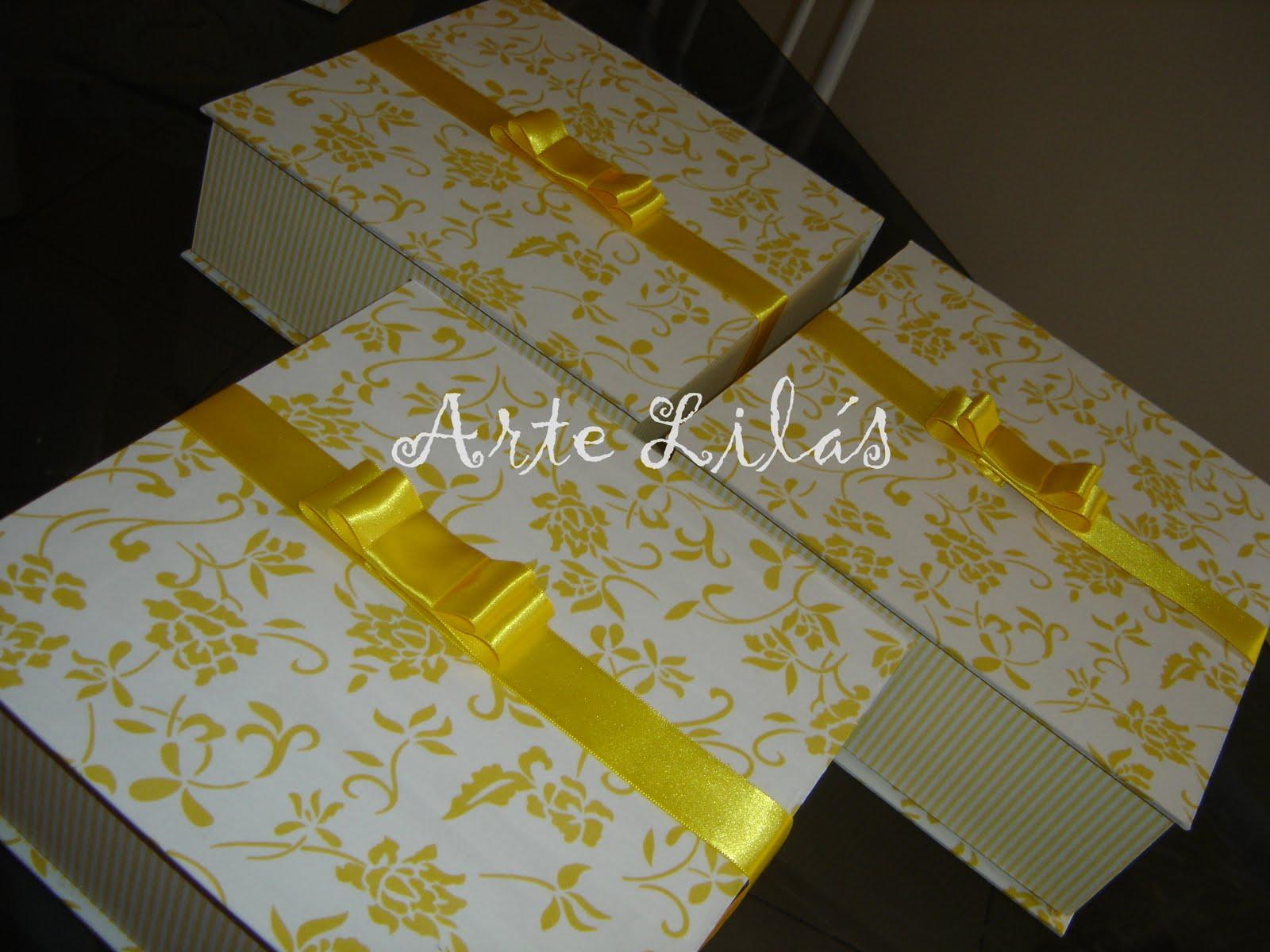 Caixas de presente aos pais Katia e Alberto #B19D0F 1600x1200