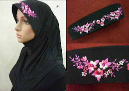 Tudung Diamond Sulam Exclusive ( XL Size )