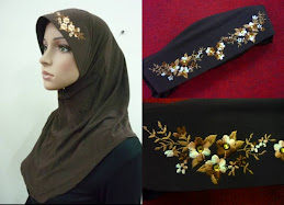 Tudung Diamond Sulam Exclusive ( M Size )