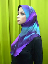 Tudung Syria Rainbow (awning inner)