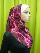 Tudung Syria Velvet